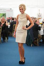 LIVERPOOL, ENGLAND - Friday, June 22, 2012: The Dressing Room fashion show in the hospitality tent during day two of the Medicash Liverpool International Tennis Tournament at Calderstones Park. (Pic by David Rawcliffe/Propaganda)