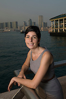 Lhasa-based Marion Chaygneaud-Dupuy owner and founder of Global Nomad photographed in Hong Kong.