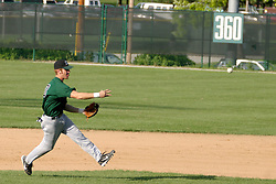 14 June 2004  Central Illinois Collegiate League (CICL) action between the Twin City Stars and the Danville Dans.  Action included play of the 2003 1231st Dodgers draft pick of Matt Votaw (13) at Shortstop. Jack Horenberger Field, Illinois Wesleyan University, Bloomington, IL