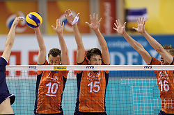 08-06-2014 NED: WLV Nederland - Portugal, Almere<br /> Jeroen Rauwerdink, Thomas Koelewijn, Robin Overbeeke