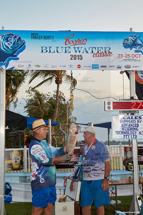 Coopers Blue Water Classic. Darwin Trailer Boat Club 25 October 2015. Photo Creative Light Studios