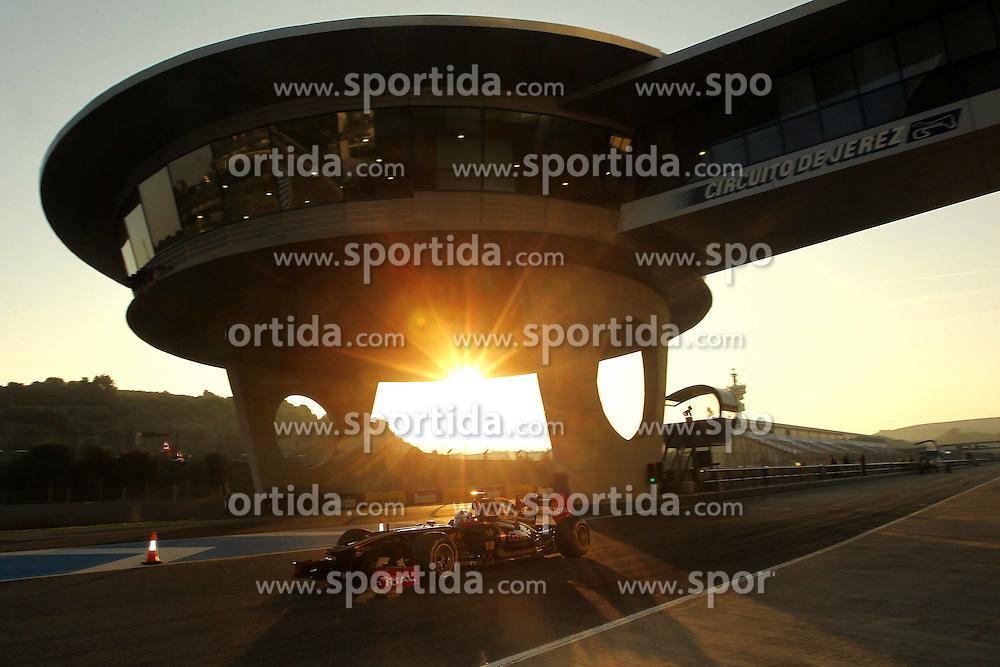 12.02.2011, Street Circuit. Jerez, ESP, Formel 1 Test 2 Valencia 2011,  im Bild Vitaly Petrov (RUS), Lotus Renault GP . EXPA Pictures © 2011, PhotoCredit: EXPA/ nph/   poleposition.at  //    **** only for AUT  & SLO ****