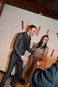 JOE APPEL; ANDREA RISBOROUGH, Valentino: Master of Couture - private view. Somerset House, London. 28 November 2012