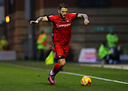 Callum Kennedy makes a run down the wing during the EFL Sky Bet League 2 match between Leyton Orient and Barnet at the Matchroom Stadium, London, England on 7 January 2017. Photo by Jack Beard.