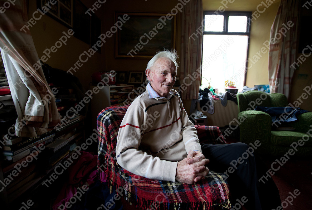 Michael Studdard pictured at home in Cree County Clare.  Pic: Sean Curtin Press 22.