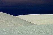 Dune Abstract at White Sands National Monument