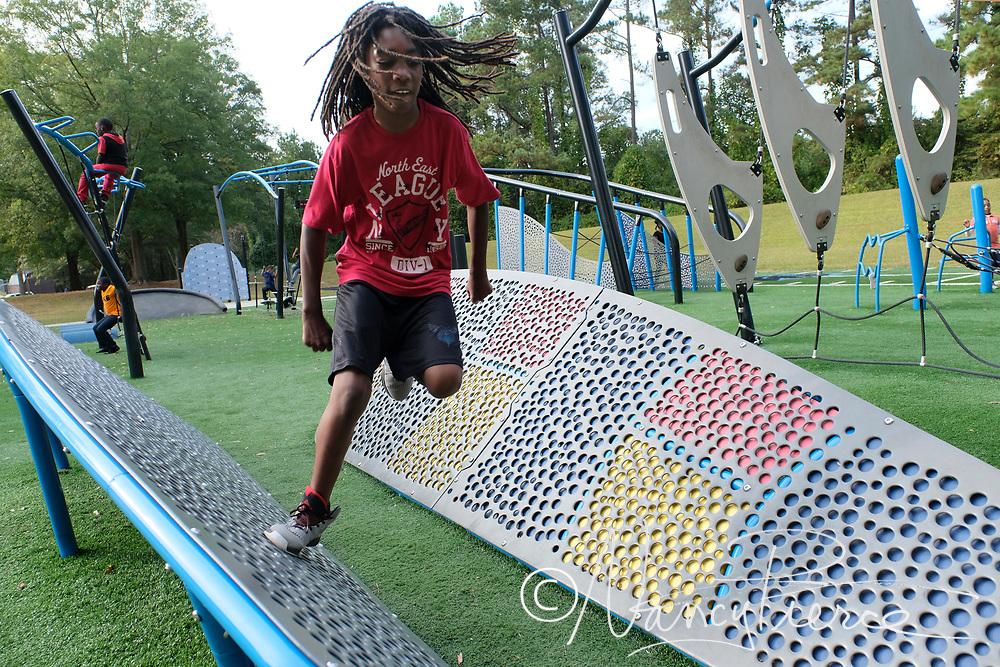 Playground at Hornets Nest Park