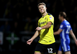 Jamie Ward of Burton Albion looks frustrated after missing a chance to score a goal  - Mandatory by-line: Robbie Stephenson/JMP - 21/10/2016 - FOOTBALL - Pirelli Stadium - Burton upon Trent, England - Burton Albion v Birmingham City - Sky Bet Championship