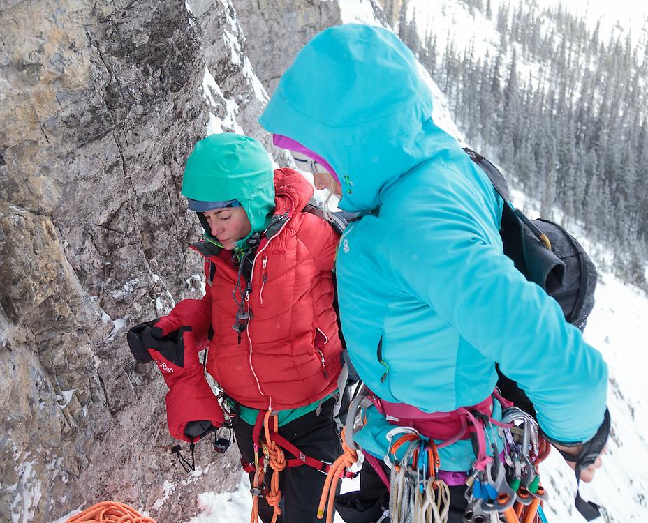 Ice Climbing Sorcerer - Vanessa and Sarah