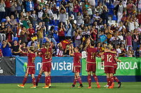 Spain's Jennifer Hermoso during the match of  European Women's Championship 2017 at Leganes, between Spain and Finland. September 20, 2016. (ALTERPHOTOS/Rodrigo Jimenez)