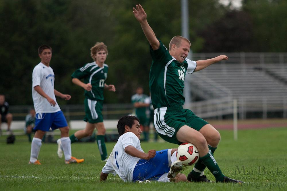 West Deptford plays Sterling High School in a boy's soccer match on Thursday September 8, 2011.