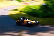 Car number 17 at Shelsley Hill climb 6/6/10