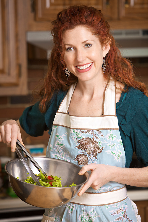 Nutritionist and cookbook author Susan Greeley's portrait for her book Cooking With Trader Joe's: Lighten Up!