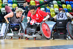 FRA v NZL at the 2015 BT World Wheelchair Rugby Challenge, Copper Box, Olympic Park, London