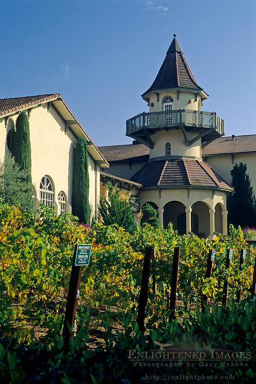 Chateau St. Jean Winery, Valley of the Moon, Sonoma County, California