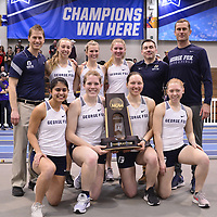 NCAA Division III Indoor Track and Field Championships at the Reggie Lewis Center in Boston, Mass.