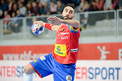 RIVERA Valero of Spain during handball match between National teams of Spain and Czech Republic on Day 2 in Preliminary Round of Men's EHF EURO 2018, on Januar 13, 2018 in Skolsko Sportska Dvorana, Varazdin, Croatia. Photo by Mario Horvat / Sportida