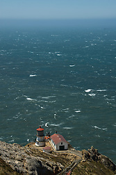 California: Lighthouse at Point Reyes National Seashore near San Francisco. Photo copyright Lee Foster. Photo # casanf81235