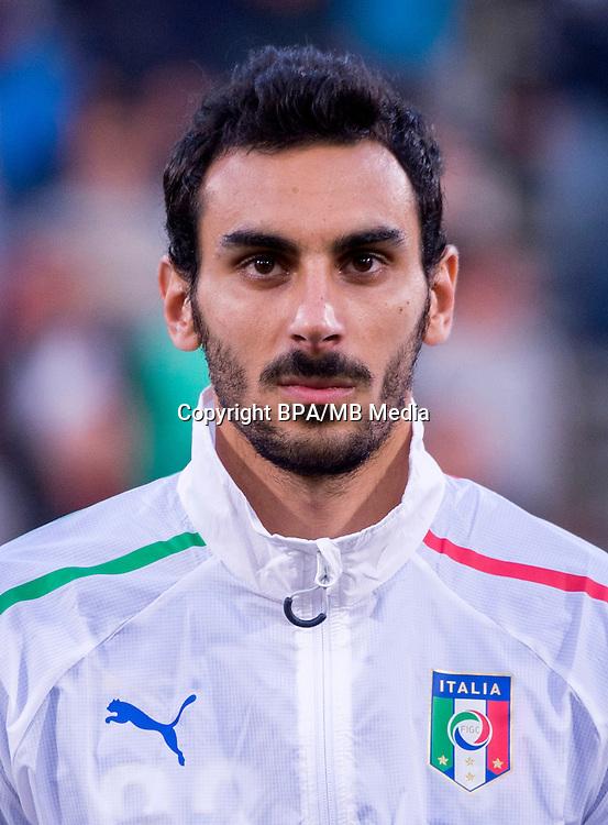 Uefa Euro FRANCE 2016 - <br /> Italy National Team - <br /> Davide Zappacosta