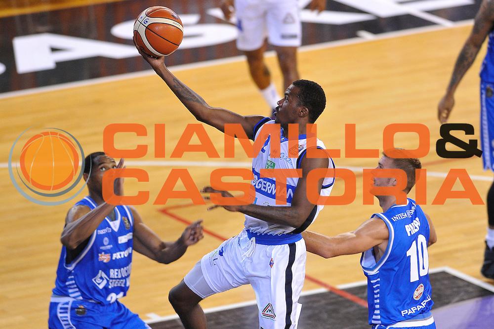 Lee Moore<br /> Germani Basket Brescia - Red October Cantu'<br /> LegaBasket 2016/2017<br /> Brescia 09/10/2016<br /> Foto Ciamillo-Castoria