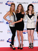 09.DECEMBER.2012. LONDON<br /> <br /> SARAH HARDING, NADINE COYLE AND NICOLA ROBERTS AT DAY 2 OF CAPITAL FM'S JINGLE BELL BALL AT THE 02 ARENA IN GREENWICH.<br /> <br /> BYLINE: EDBIMAGEARCHIVE.CO.UK<br /> <br /> *THIS IMAGE IS STRICTLY FOR UK NEWSPAPERS AND MAGAZINES ONLY*<br /> *FOR WORLD WIDE SALES AND WEB USE PLEASE CONTACT EDBIMAGEARCHIVE - 0208 954 5968*