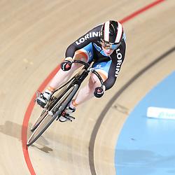17-12-2016: Wielrennen: NK baanwielrennen: Apeldoorn       <br /> APELDOORN (NED) wielrennen   <br /> Kyra Lamberink in de kwalificatie 200 meter