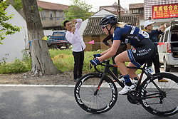 Ilona Hoeksma at Tour of Chongming Island - Stage 2. A 135.4km road race from Changxing Island to Chongming Island, China on 6th May 2017.