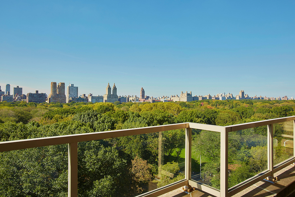 View of Central Park from 870 Fifth Avenue, 16th floor