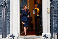 © Licensed to London News Pictures. 27/06/2017. London, UK. Education Secretary JUSTINE GREENING attends a cabinet meeting in Downing Street, London on Tuesday, 27 June 2017. Photo credit: Tolga Akmen/LNP