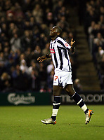 Photo: Mark Stephenson.<br /> West Bromwich Albion v Blackpool. Coca Cola Championship. 23/10/2007.West Brom'd Ishmael Miller celebrates his goal