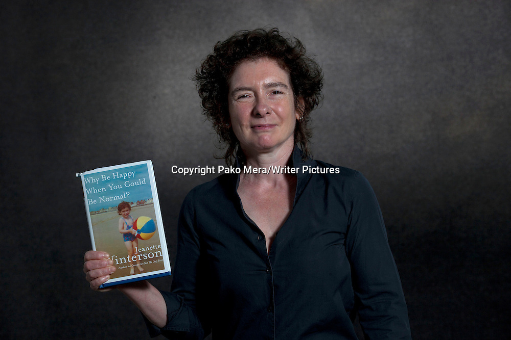 Jeanette Winterson during the Edinburgh International Book Festival 2012 in Charlotte Square Gardens. Photograph taken 20/08/2012<br /> <br /> Picture by Pako Mera/Writer Pictures