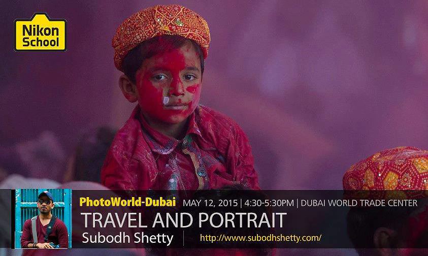 Nikon Speaker - Photoworld Dubai 2015<br />
