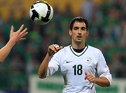 Branko Ilic (18) at the fourth round qualification game of 2010 FIFA WORLD CUP SOUTH AFRICA in Group 3 between Slovenia and Northern Ireland at Stadion Ljudski vrt, on October 11, 2008, in Maribor, Slovenia.  (Photo by Vid Ponikvar / Sportal Images)