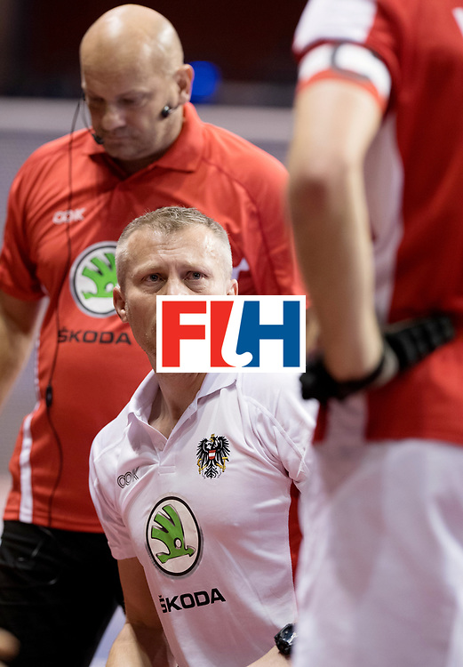 BERLIN - Indoor Hockey World Cup<br /> Men: Austria - South Africa<br /> foto: SZMIDT Tomasz.<br /> WORLDSPORTPICS COPYRIGHT FRANK UIJLENBROEK