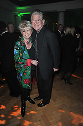 GLORIA HUNNIFORD and STEPHEN WAY at the press night of the new Andrew Lloyd Webber  musical 'The Wizard of Oz' at The London Palladium, Argylle Street, London on 1st March 2011 followed by an aftershow party at One Marylebone, London NW1