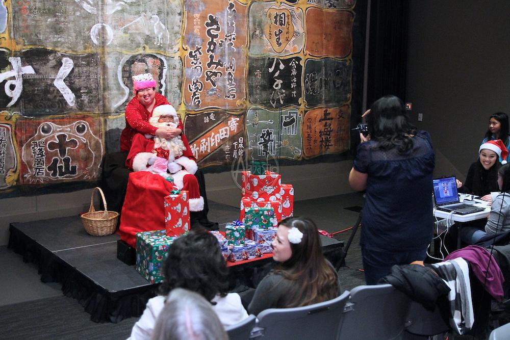 The Wing Marketplace Shop-o-Rama with Asian-American Santa.