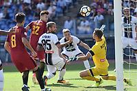 Gol Stephan El Shaarawy Roma 2-0 Goal celebration <br /> Roma 23-09-2017 Stadio Olimpico Calcio Serie A 2017/2018 AS Roma - Udinese Foto Andrea Staccioli / Insidefoto