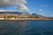 Lahaina Harbor, Maui, Hawaii