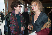 CHANTAL CROUSEL; CAROLYN CHRISTOV-BAKARGIEV, Absolut Art Bureau cocktails and dinner to celebrate the announcement of the 2013 Absolut Art Award shortlist. Bauer Hotel, San Marco. Venice. Venice Bienalle. 28 May 2013