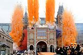 Koningin Beatrix heropent het Rijksmuseum