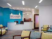 Pediatrics Specialties of Virginia Ashburn Offices Interior Photography