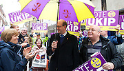 Rochester <br /> by-election campaign <br /> in the run up to the election on 20th November 2014 <br /> atmosphere of area, campaigners and people around Rochester, Kent, Great Britain <br /> 15th November 2014 <br /> <br /> <br /> with Mark Reckless the UKIP candidate who defected from the Conservative party. <br /> <br /> <br /> <br /> Photograph by Elliott Franks <br /> Image licensed to Elliott Franks Photography Services