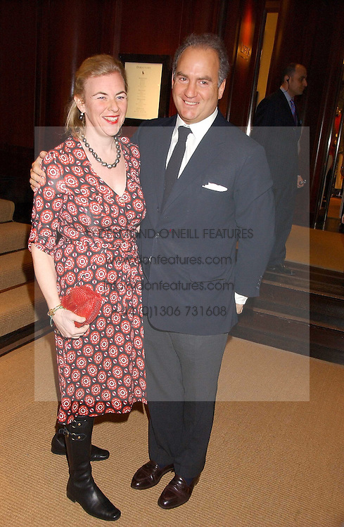 CHARLES FINCH and PRINCESS DORA LOEWENSTEIN at a party at Ralph Lauren, Bond Street, London in support of the NSPCC's Full Stop campaign on 21st March 2006.<br /><br />NON EXCLUSIVE - WORLD RIGHTS