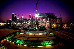 Stock photo of Minute Maid Park (Enron Field at Time of Photo) Construction Site