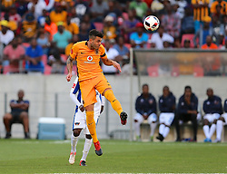 Daniel Antonio Cardoso of Kaizer Chiefs during the 2016 Premier Soccer League match between Chippa United and Kaizer Chiefs held at the Nelson Mandela Bay Stadium in Port Elizabeth, South Africa on the 3rd December 2016.<br /> <br /> Photo by:   Richard Huggard / Real Time Images