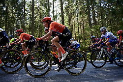 Riejanne Markus (NED) in the woods during Ladies Tour of Norway 2019 - Stage 4, a 154 km road race from Svinesund to Halden, Norway on August 25, 2019. Photo by Sean Robinson/velofocus.com
