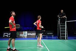 DK:<br /> 20190209, &Aring;rhus, Danmark:<br /> Badminton Danmark FZ Forza/RSL DM 2019. <br /> Mixed Double: Mathias Christiansen og Christinna Pedersen vs. Mathias Bay Schmidt og Rikke S&oslash;by Hansen.<br /> Foto: Lars M&oslash;ller<br /> UK: <br /> 20190209, Aarhus, Denmark:<br /> Badminton Danmark FZ Forza/RSL DM 2019.<br /> Mixed Double: Mathias Christiansen og Christinna Pedersen vs. Mathias Bay Schmidt og Rikke S&oslash;by Hansen.<br /> Photo: Lars Moeller