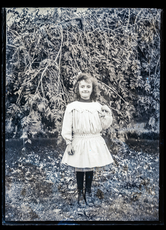 young adult girl posing France ca 1920s