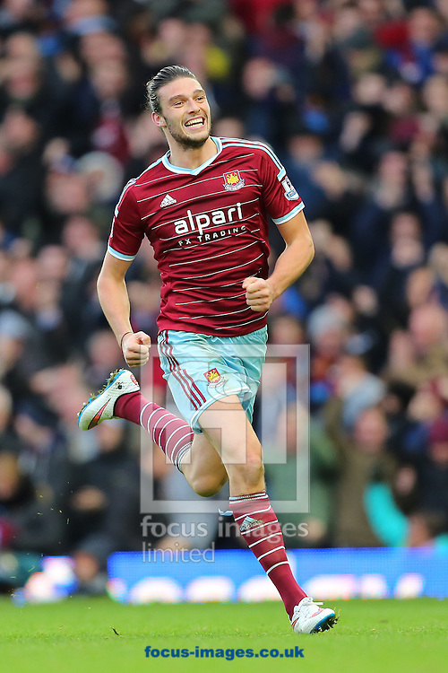 during the Barclays Premier League match at the Boleyn Ground, London<br /> Picture by Richard Calver/Focus Images Ltd +447792 981244<br /> 07/12/2014