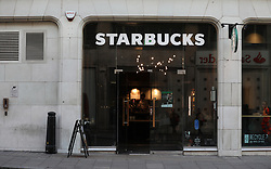 A Starbucks shop near Oxford Street, London. Picture dated: Thursday September 13, 2018. Photo credit should read: Isabel Infantes / EMPICS Entertainment.